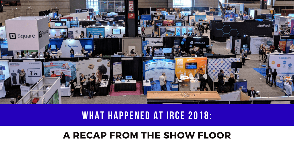 irce 2018 blog cover recap for show floor