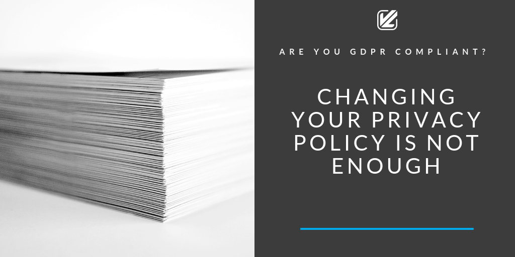 gdpr changing your privacy policy blog cover