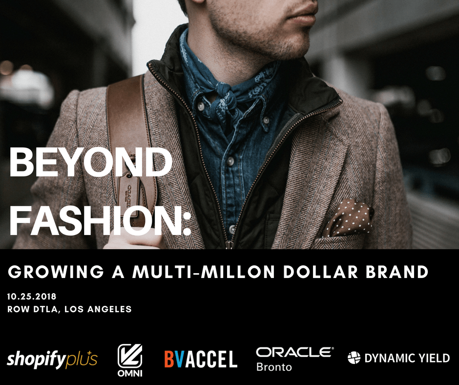 beyond fashion growing multi milion dollar brand
