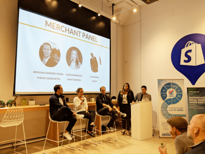 merchant panel la shopify plus event