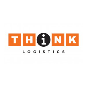 think logistics logo, logistics, connector