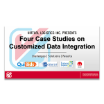 Four Case Studies on Customized Data Integration: Challenges, Solutions, Results