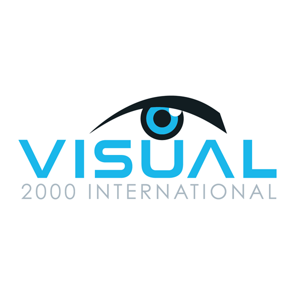 visual 2000, logo, connector