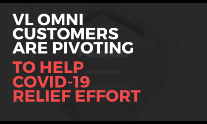Online brands (VL OMNI customers) pivoting to help COVID-19 relief effort