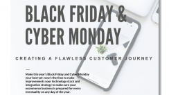 black friday, cyber monday, infographic, exceptional customer journey